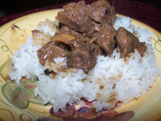 Filipino Beef Adobo with Coconut Milk
